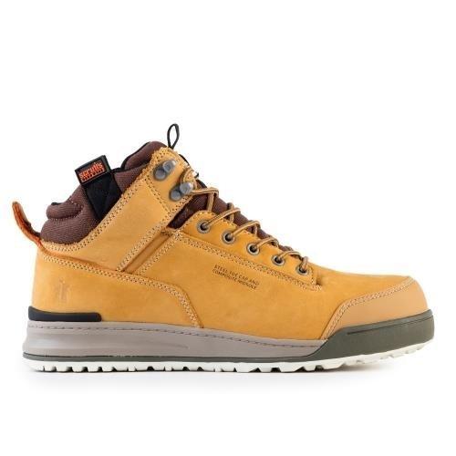 (12) Scruffs Switchback Safety Work Boots Tan