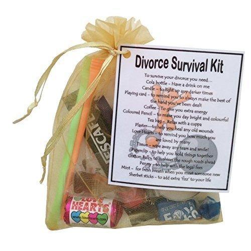 Divorce Survival Kit Gift  - Small Novelty gift