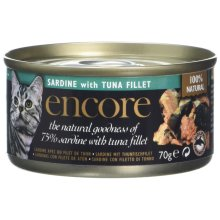 Encore Sardine with Tuna Tin Cat Food (pack of 16)