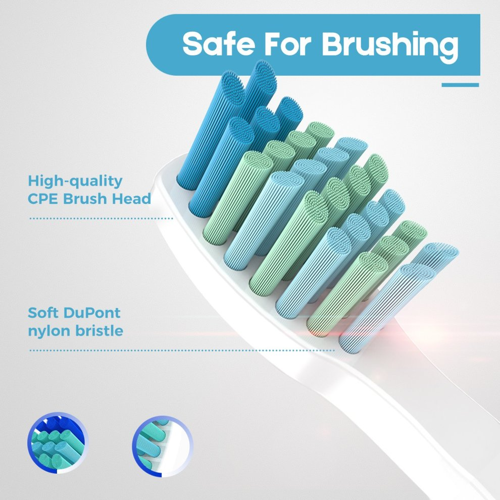 Electric Toothbrush Sonic, Adults and Kids Electronic Tooth Brush Rechargeable with Automatic Interval, Waterproof for Shower, Five Brushing Modes,