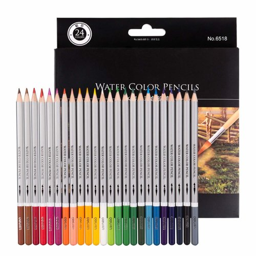 Morcoo 24 colours Adult Colouring Pencils for Drawing Colouring books watercolour Pencils for Sketching or Colour Coloured Pencils A for kids grown...