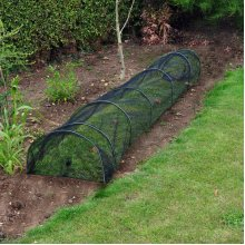 GROW TUNNEL NET MESH CLOCHE VEGETABLES PLANT PROTECTION ALLOTMENT GARDEN CROPS
