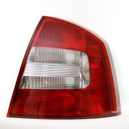 Skoda Octavia Mk2 Hatchback 2009-2013 Rear Tail Light Drivers Side O/s