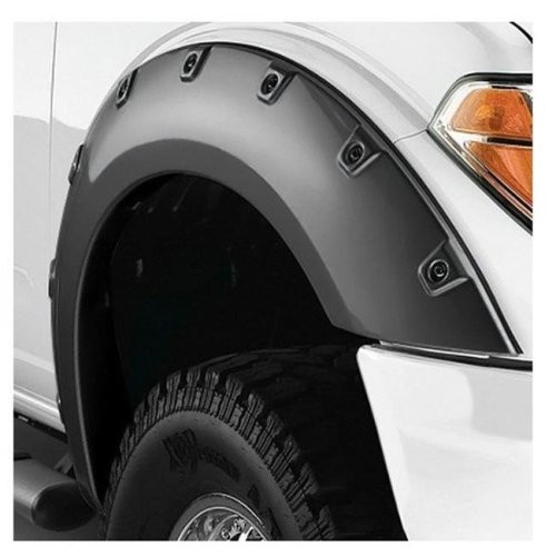 Chevy Silverado 2014-2017 1500//2500//3500 Factory Style Flare Flair Matte Black