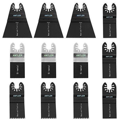 Antler 35mm Carbide Blades for Dewalt Stanley Worx Erbauer Oscillating Multitool