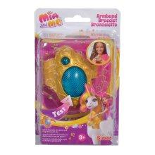 Simba 109480101 Mia and Me Bracelet With Light & Sound