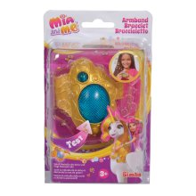 Simba 109480101- Mia and Me Bracelet with Light and Sound