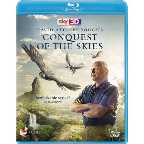 David Attenborough - Conquest Of The Skies Blu-Ray [2015]