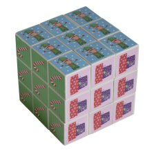 Christmas Puzzle Cube - Novelty Stocking Filler Gift
