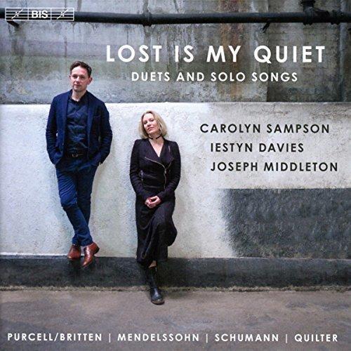 Carolyn Sampson - Lost is my Quiet [Carolyn Sampson; Iestyn Davies; Joesph Middleton] [Bis: BIS2279] [CD]