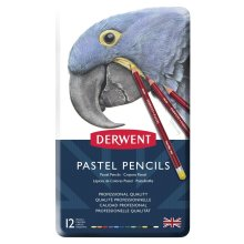 Derwent Pastel Pencils, Set of 12, Professional Quality, 32991, Multicolor