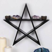 Pentagram Star Wall Art Display Shelf