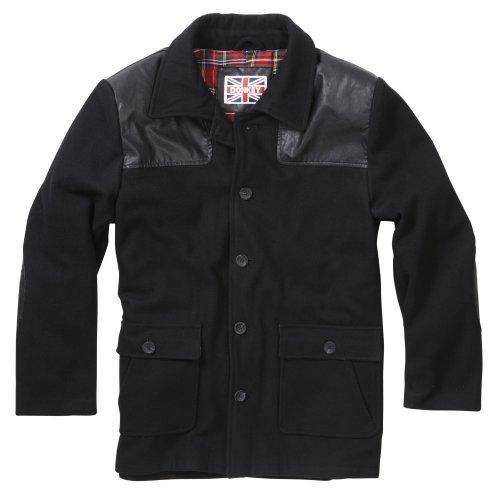 (XXL) Mens Vintage-Inspired Donkey Jacket | Mens Overcoat
