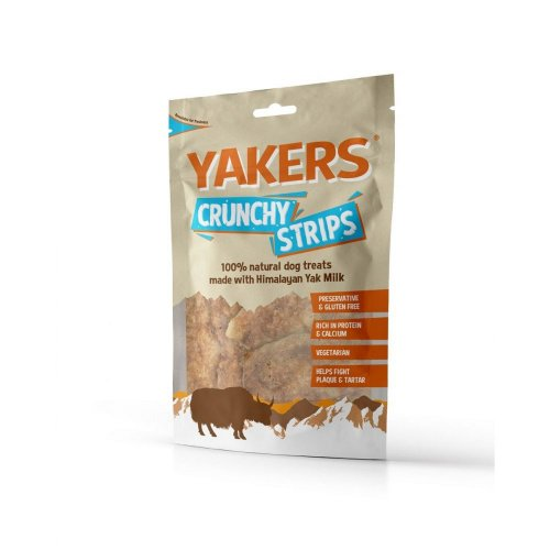 Yakers Crunchy Strip Treats