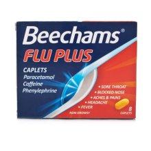 Flu Plus Caps 8'S (6 x 8's)