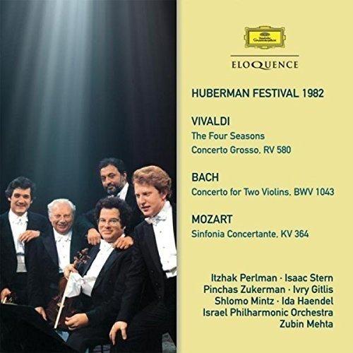Pinchas Zukerman, Zubin Mehta Itzhak Perlman - Huberman Festival 1982; Vivaldi, Bach and Mozart [CD]