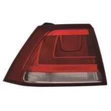 Volkswagen Golf 5 Door Hatchback 2013-2017 Rear Lamp Outer Section - Not LED Version - Red (Standard Models) Passenger Side L