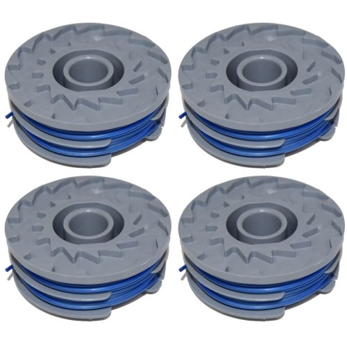 4 x Trimmer Strimmer Spool & Line Double Autofeed Compatible Flymo FLY021