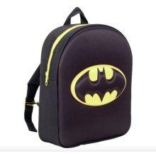 OFFICIAL BATMAN LOGO 3D EVA BOYS JUNIOR BACKPACK RUCKSACK SCHOOL BAG
