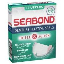 SEA-BOND Denture Adhesive Seals Uppers Original 15 ea