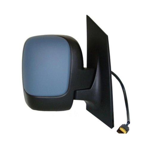 Fiat Scudo 2007-/> Door Mirror Twin Glass Electric Primed O//S Driver Right