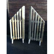 Horse Jump - Slatted Wings (Pair) - UP TO 8 WEEK WAIT