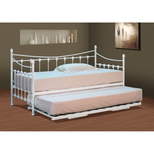 Evelyn Metal Day Bed With or Without Trundle