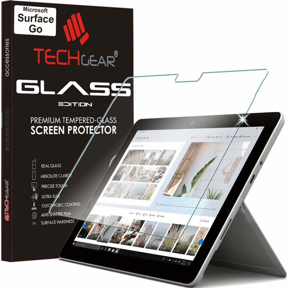 Full Coverage For Microsoft Surface Go Tempered Glass Screen Protector