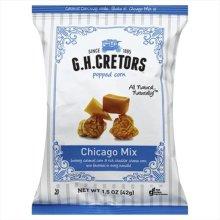 GH CRETORS POPCORN CHICAGO MIX-1.5 OZ -Pack of 24