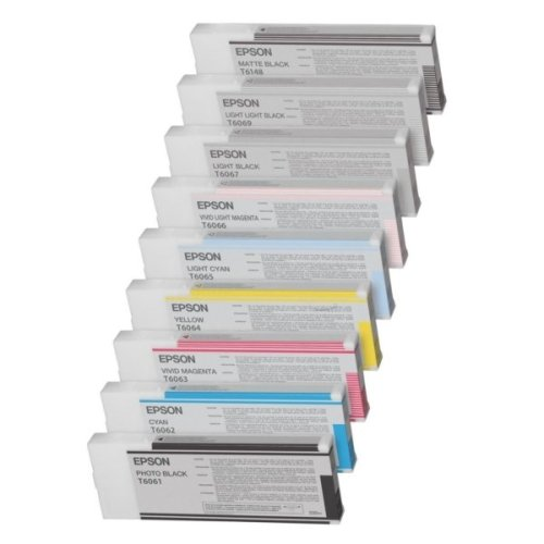 Epson C13T606500 (T6065) Ink cartridge bright cyan, 220ml