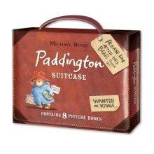 Paddington Suitcase With Eight Paddington Bear Books - Michael Bond