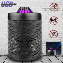 LED USB UV Catch Mosquito Killer Trap Light Insect Zapper Catcher