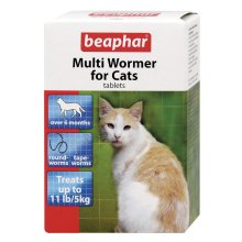 Beaphar Cat Multiwormer 4 Tablets