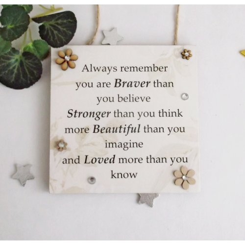 Inspirational Gift Plaque to Uplift and Inspire