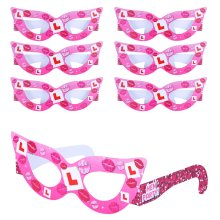 6 Hen Party Glasses (Pack)