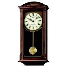 Seiko QXH030B Westminster/Whittington Dual Chime Wall Clock with Pendulam