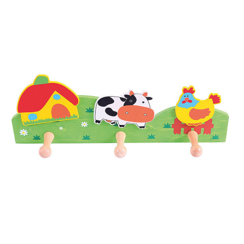 Bigjigs Toys Coat Hook (Farm)