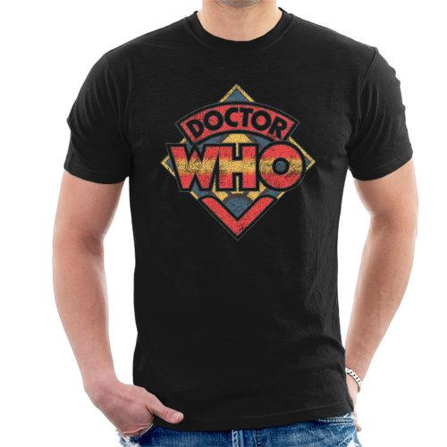 Doctor Who 70s Logo Men's T-Shirt