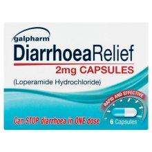 Loperamide 2mg Capsules 6