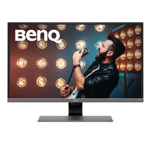 Benq EW3270U 31.5  4K Ultra HD LED Flat Black, Grey, Metallic computer monitor