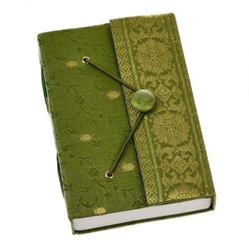 Sari Journal Notebook Medium 110 x 155mm - Green