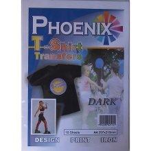 Phoenix T-Shirt Transfer Paper - Dark