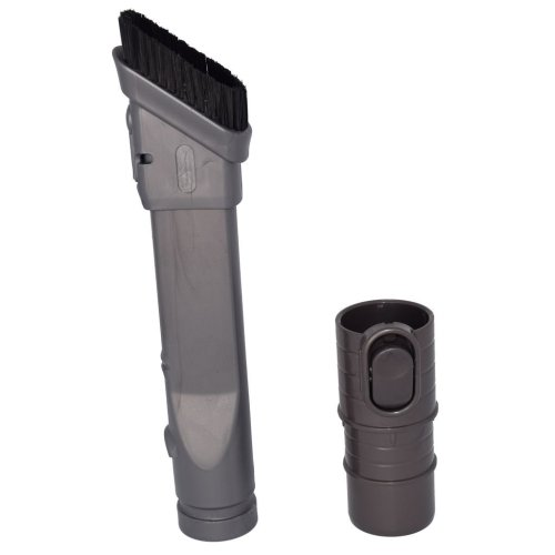 Slim Combination Dusting Brush and Crevice Tool Assembly for Dyson DC33