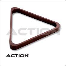 Billiards Accessories RK8H CHOCOLATE Heavy Duty Wooden 8-Ball Triangle Rack - Chocolate