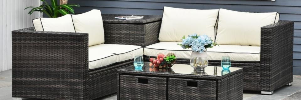 outsunny garden furniture set