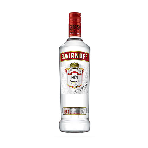 SMIRNOFF Red Russian Vodka 70cl Bottle