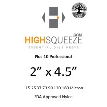 2x4.5 HighSqueeze Rosin Micron Extraction Filter Bags
