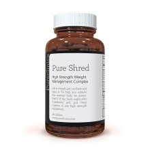 Pure Shred x 180 Tablets (5 Leading Weight Management Ingredients - 1000mg per Tablet - 6 Month Supply!