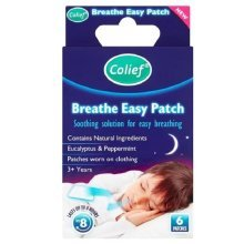 Colief Breathe Easy Patch - 6 Patches