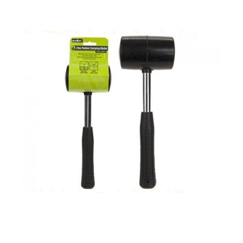 24oz Rubber Mallet   Camping Mallet